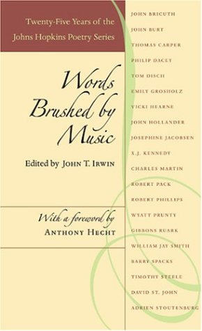 Words Brushed by Music: Twenty-Five Years of the Johns Hopkins Poetry Series als Taschenbuch