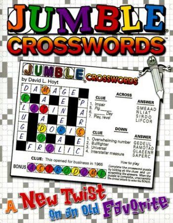 Jumble(r) Crosswords(tm): A New Twist on an Old Favorite als Taschenbuch