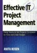Effective IT Project Management: Using Teams to Get Projects Completed on Time and Under Budget als Buch (gebunden)