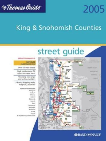 Thomas Guide - King & Snohomish Counties als Taschenbuch