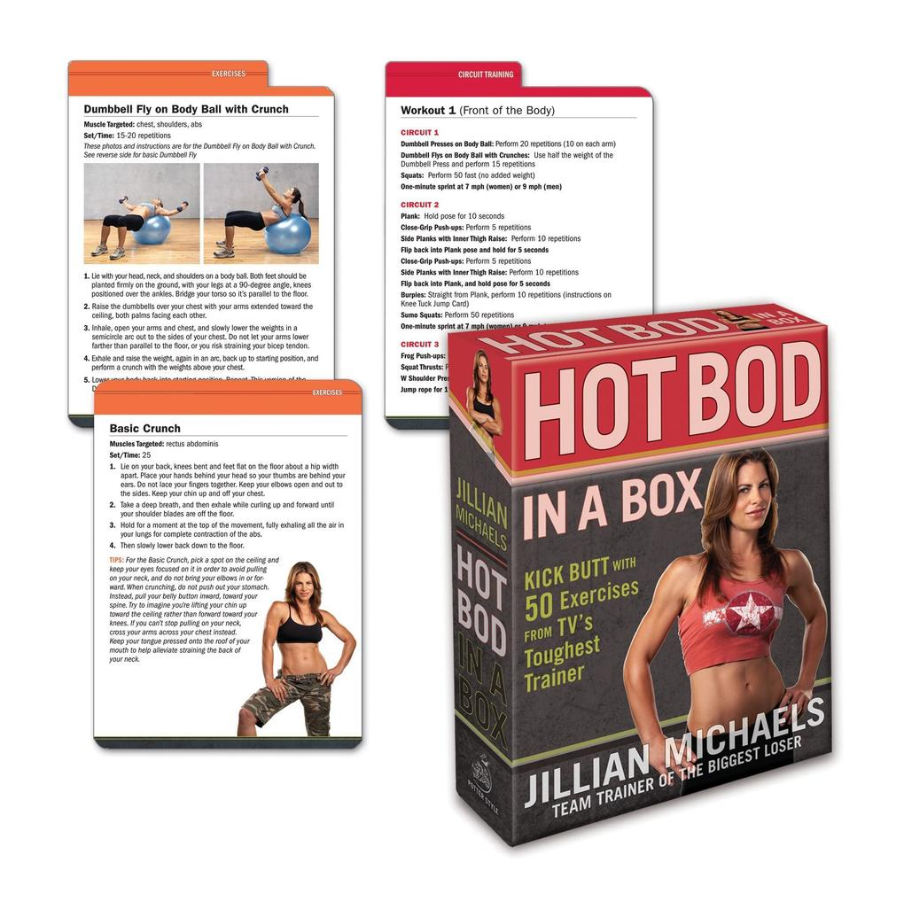 Jillian Michaels Hot Bod In A Box als Sonstiger Artikel