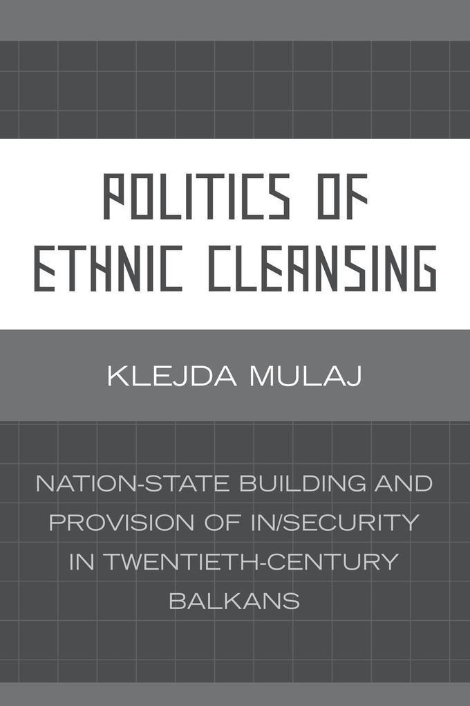 Politics of Ethnic Cleansing als Taschenbuch