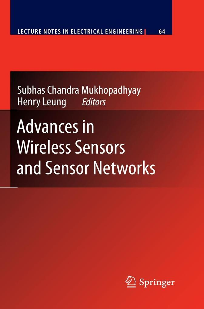 Advances in Wireless Sensors and Sensor Networks als Buch (gebunden)