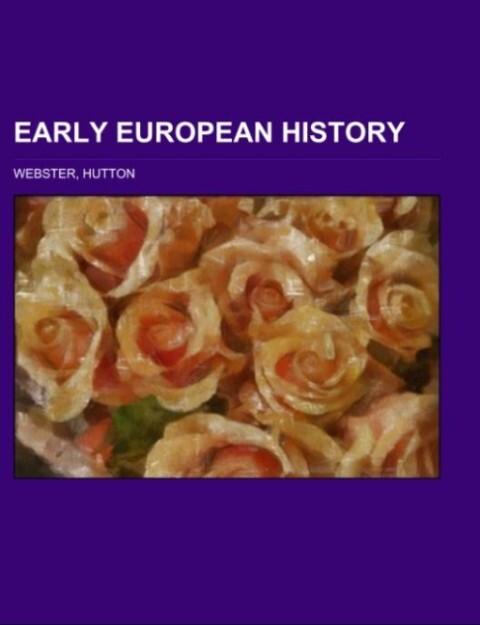 Early European History als Taschenbuch