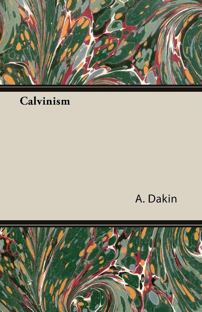 Calvinism als Taschenbuch
