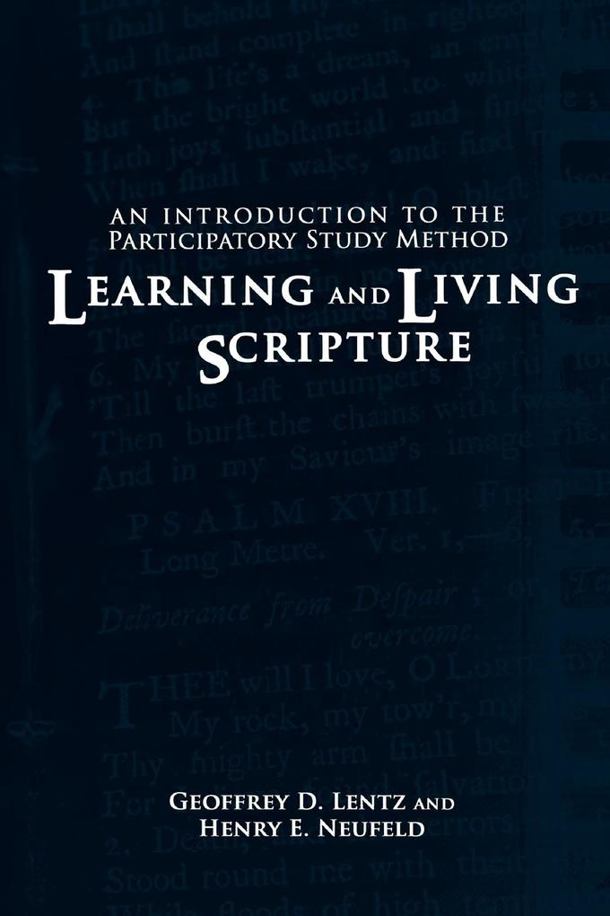Learning and Living Scripture als Taschenbuch