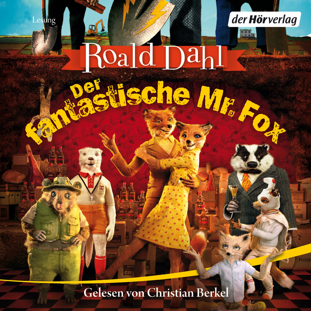 Der fantastische Mr. Fox als Hörbuch Download