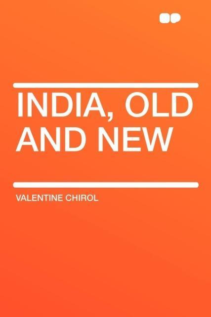 India, Old and New als Taschenbuch