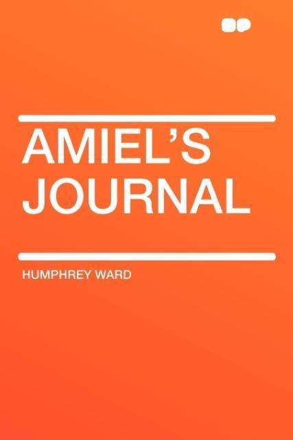 Amiel's Journal als Taschenbuch