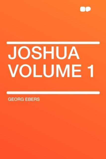 Joshua Volume 1 als Taschenbuch