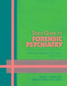 Study Guide to Forensic Psychiatry als Taschenbuch