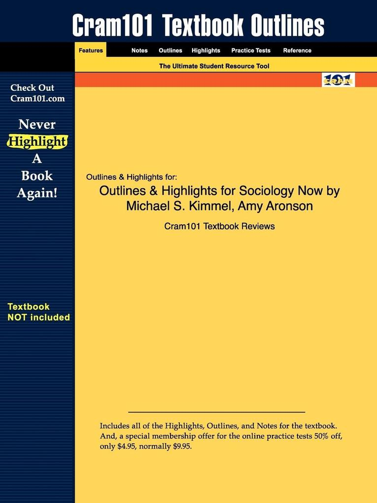 Outlines & Highlights for Introductory Sociology by Michael S. Kimmel als Taschenbuch