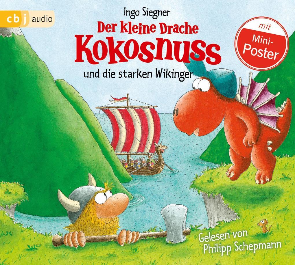 Der kleine Drache Kokosnuss 14 und die starken Wikinger als Hörbuch CD