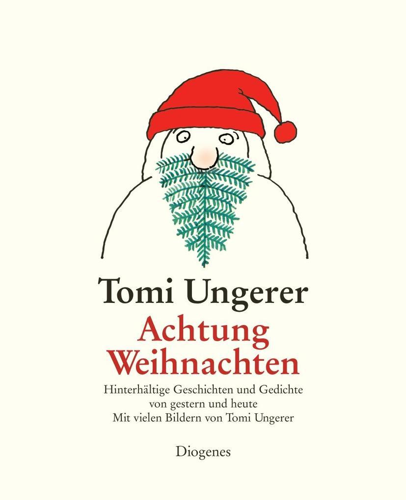 Achtung Weihnachten als Buch (gebunden)