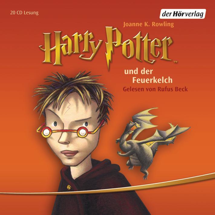 Harry Potter 4 und der Feuerkelch als Hörbuch CD