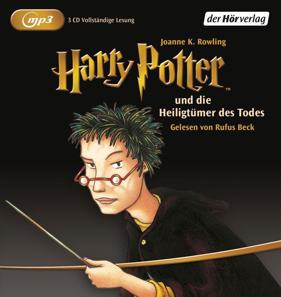 Harry Potter 7 und die Heiligtümer des Todes. 2 MP3-CDs als Hörbuch CD