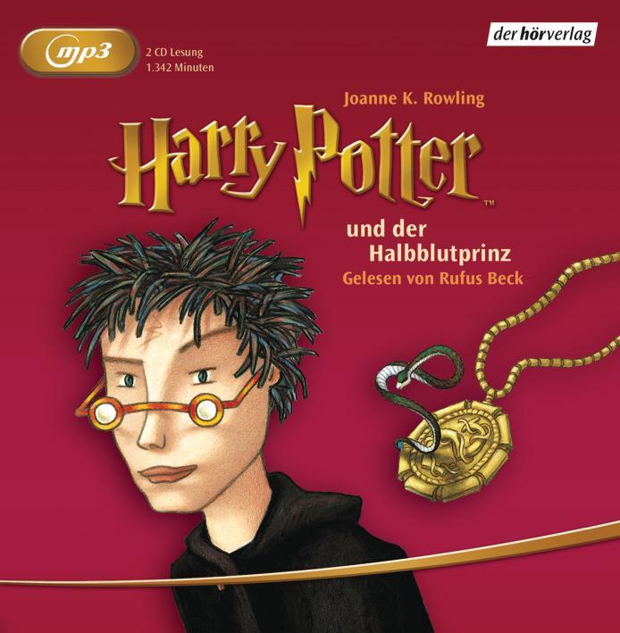 Harry Potter 6 und der Halbblutprinz als Hörbuch CD