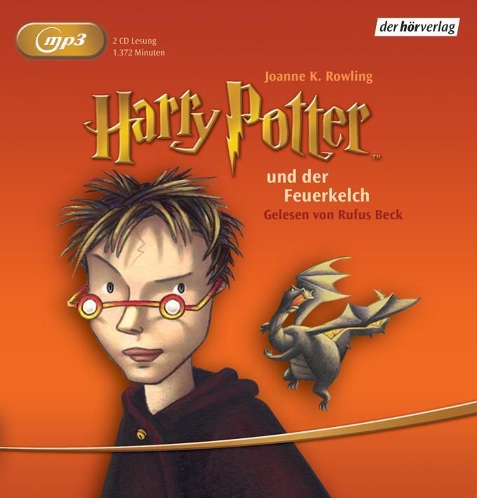 Harry Potter 4 und der Feuerkelch. 2 MP3-CDs als Hörbuch CD