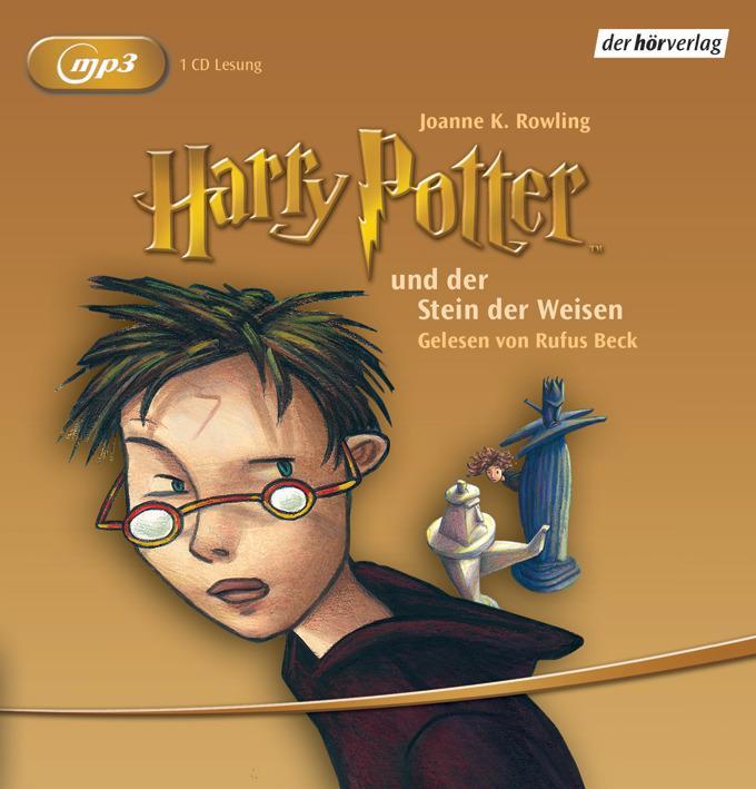 Harry Potter 1 und der Stein der Weisen als Hörbuch CD