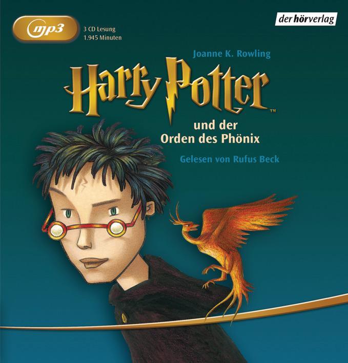 Harry Potter 5 und der Orden des Phönix als Hörbuch
