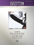 Led Zeppelin -- I Platinum: Piano/Vocal/Chords