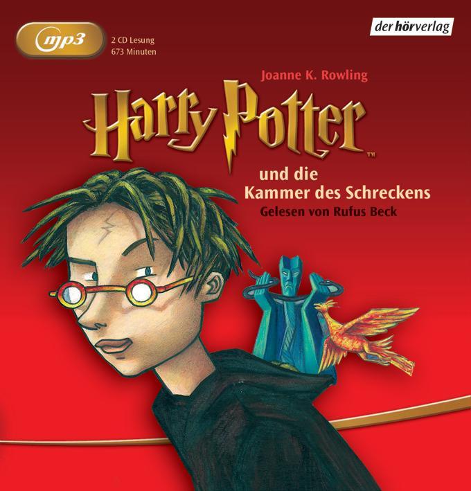 Harry Potter 2 und die Kammer des Schreckens als Hörbuch CD