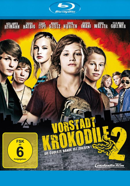 Vorstadtkrokodile 2 als Blu-ray