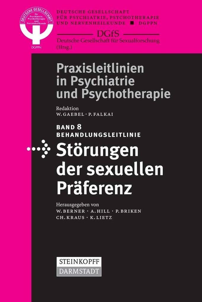 Behandlungsleitlinie Störungen der sexuellen Präferenz als eBook pdf