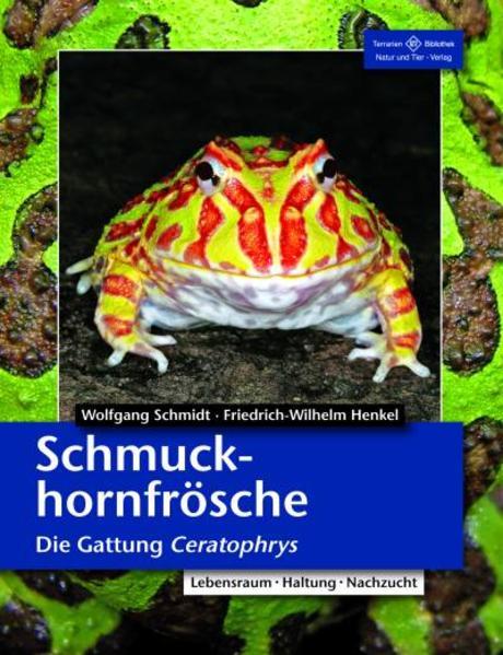 Schmuckhornfrösche als Buch (kartoniert)
