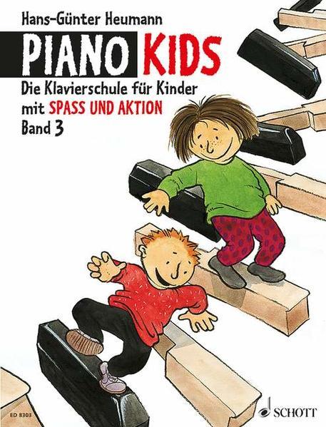 Piano Kids Band 3 + Aktionsbuch 3. Klavier als Buch (geheftet)