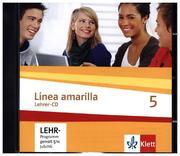 Línea amarilla 5. Spanisch als 2. Fremdsprache. Lehrer-CD