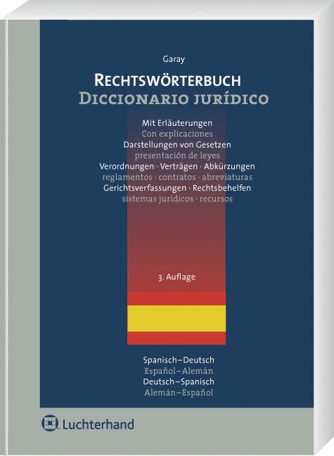 Rechtswörterbuch als Buch (kartoniert)