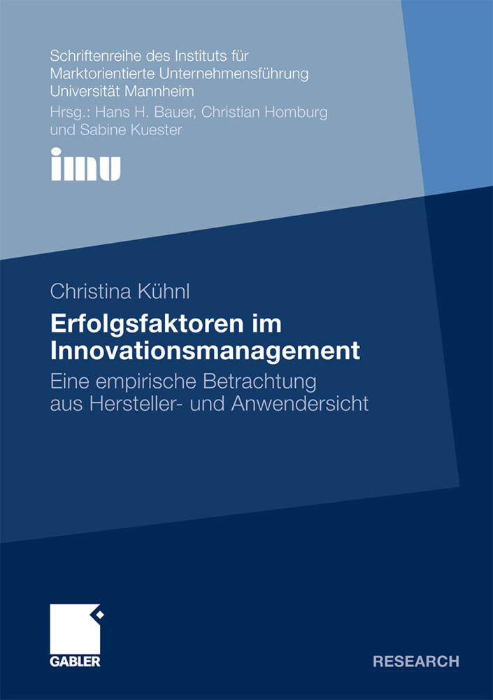 Erfolgsfaktoren im Innovationsmanagement als Buch (kartoniert)