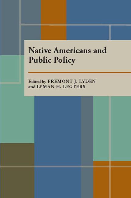 Native Americans and Public Policy als Taschenbuch