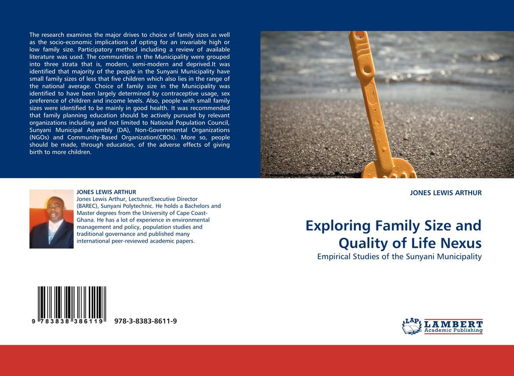 Exploring Family Size and Quality of Life Nexus als Buch (kartoniert)