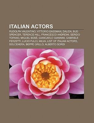 Italian actors als Taschenbuch