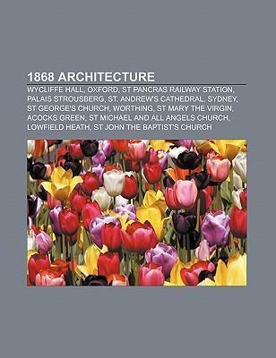 1868 architecture als Taschenbuch