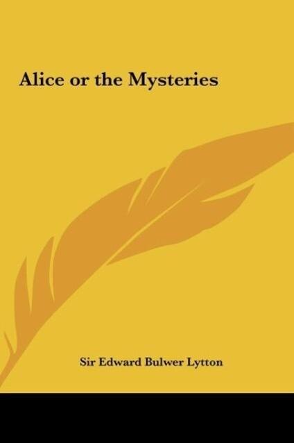 Alice or the Mysteries als Buch (gebunden)