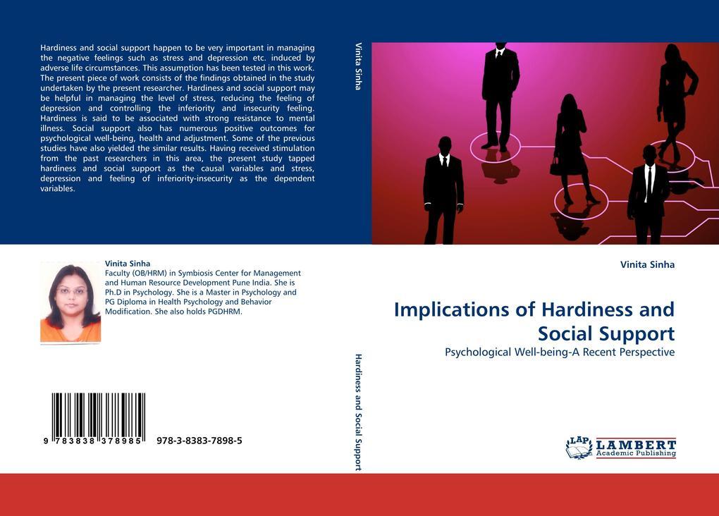 Implications of Hardiness and Social Support als Buch (kartoniert)