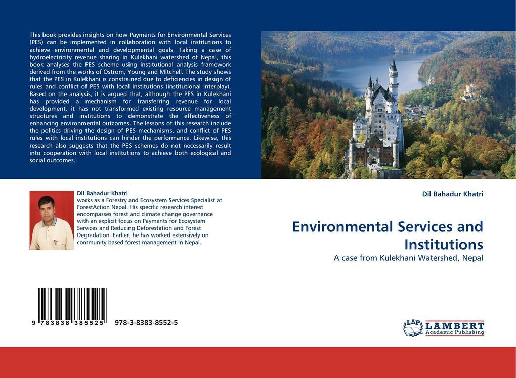 Environmental Services and Institutions als Buch (kartoniert)