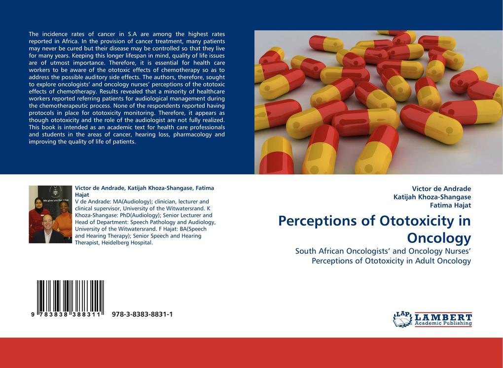 Perceptions of Ototoxicity in Oncology als Buch (kartoniert)