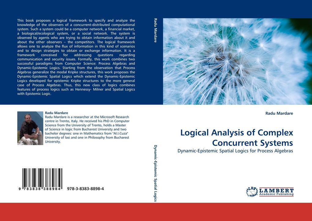 Logical Analysis of Complex Concurrent Systems als Buch (kartoniert)