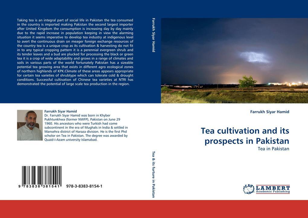 Tea cultivation and its prospects in Pakistan als Buch (kartoniert)