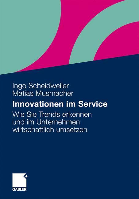 Innovationen im Service als Buch (kartoniert)