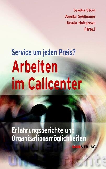 Arbeiten im Callcenter als Buch (kartoniert)