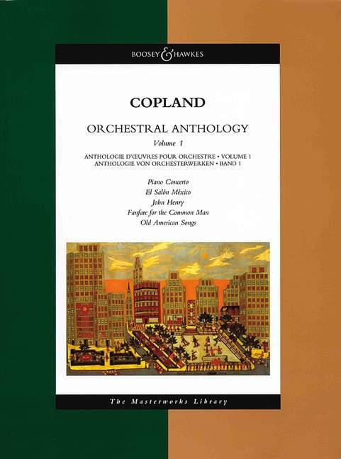 Orchestral Anthology - Volume 1: The Masterworks Library als Taschenbuch
