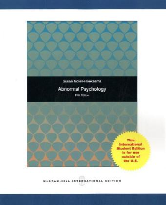 Abnormal Psychology als Buch (kartoniert)