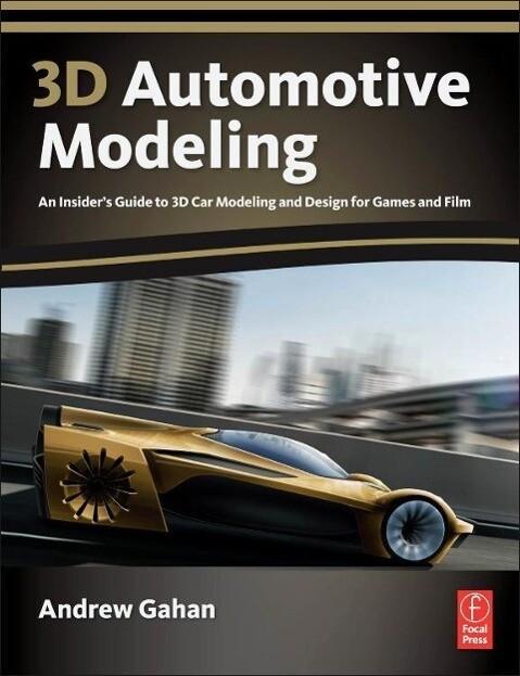 3D Automotive Modeling als Buch (kartoniert)