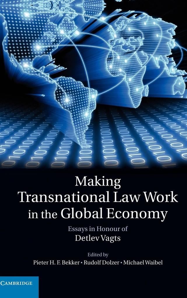 Making Transnational Law Work in the Global Economy als Buch (gebunden)