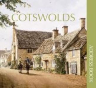 Cotswolds Address Book als Buch (gebunden)